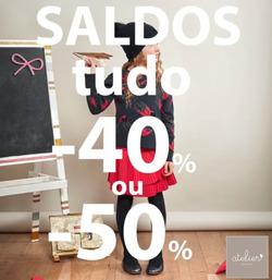 Promoção de Atelier des Enfants no folheto de Matosinhos