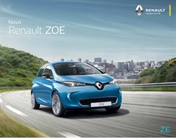 Promoção de Automóveis no folheto de Renault em Viseu