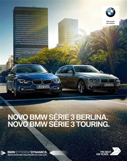Promoção de BMW no folheto de Lisboa