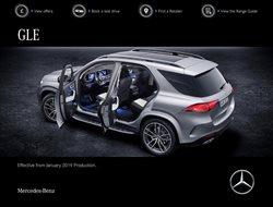 Promoção de Mercedes-Benz no folheto de Lisboa