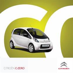 Promoção de Automóveis no folheto de Citroen em Funchal