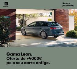 Promoção de Seat no folheto de Lisboa