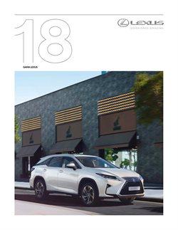 Promoção de Lexus no folheto de Faro