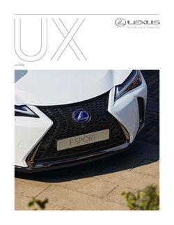 Promoção de Lexus no folheto de Lisboa