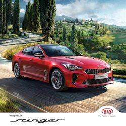 Promoção de Automóveis no folheto de Kia em Leiria