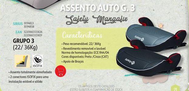 Oferta de Assento de criança para carro Safety Manga fix por
