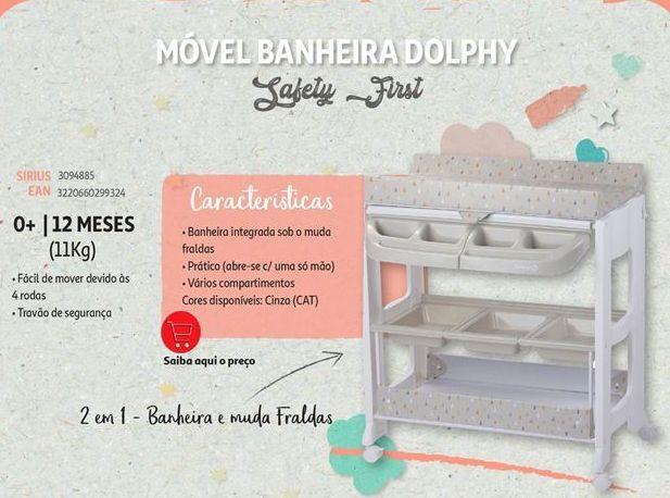 Oferta de Movel banheira dolphy Safety First por