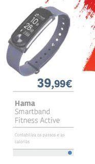 Oferta de HAMA Smartband fitness active por 39.99€