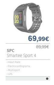 Oferta de SPC Smartee sport 4 por 69.99€
