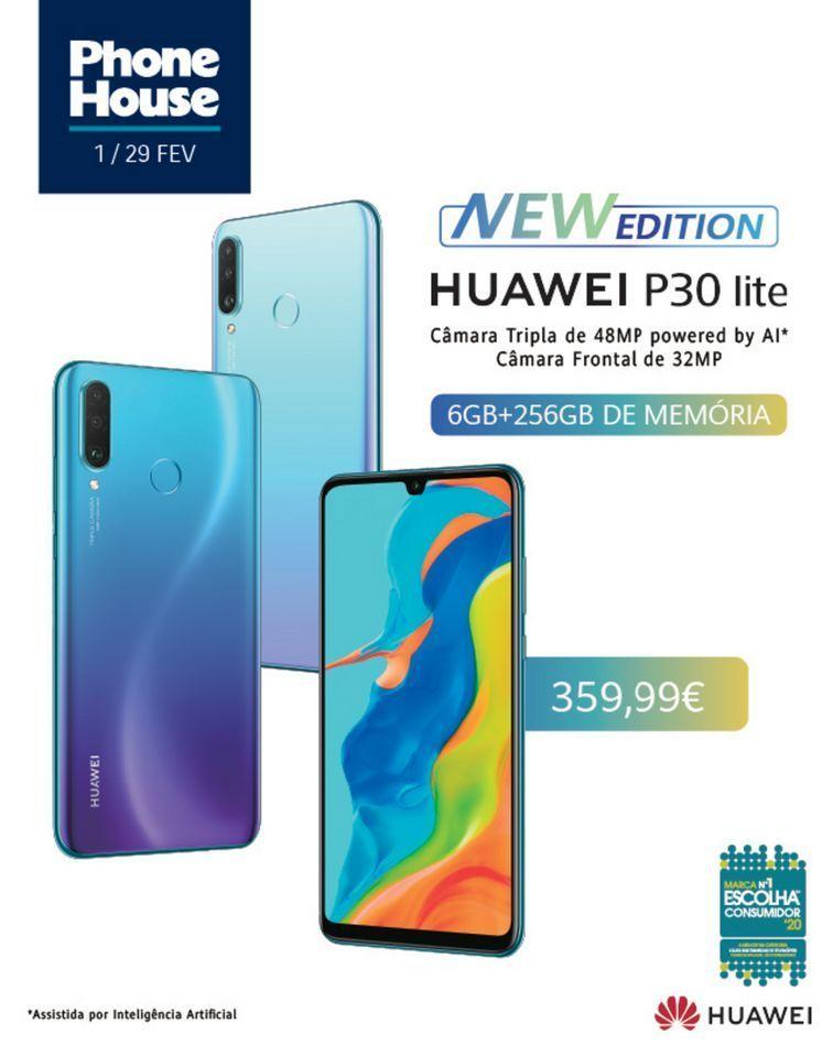 Oferta de Huawei P30 lite por 359.99€