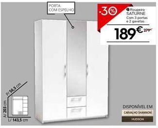 Oferta de Roupeiro por 189€