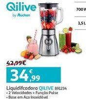 Oferta de Liquidificador Qilive por 34.99€