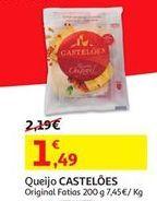 Oferta de Queijo fatiado Castelões por 1.49€