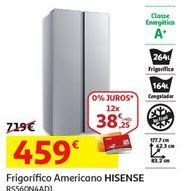 Oferta de Frigorífico americano Hisense por 459€