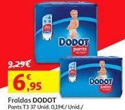 Oferta de Fraldas Dodot por 6.95€