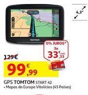 Oferta de Gps TomTom por 99.99€