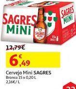 Oferta de Cerveja Sagres por 6.49€