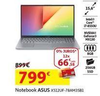 Oferta de Notebook Asus por 799€