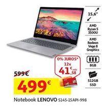 Oferta de Notebook Lenovo por 499€