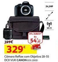 Oferta de Câmera reflex Canon por 329€