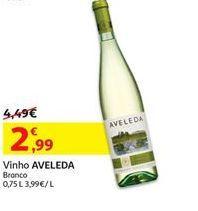 Oferta de Vinho branco aveleda por 2.99€