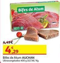 Oferta de Filé de atum Auchan por 4.29€
