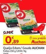 Oferta de Queijo gouda Auchan por 0.89€