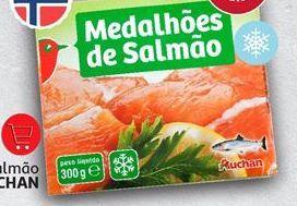 Oferta de Salmão Auchan por
