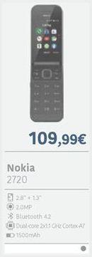 Oferta de Telemóvel Nokia por 109,99€