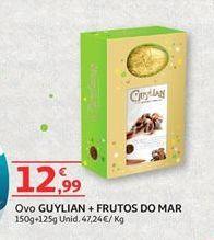 Oferta de Ovo de chocolate Guylian por 12,99€
