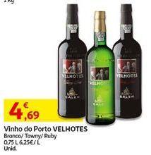 Oferta de Vinhos Velhotes por 4,69€