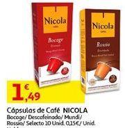 Oferta de Cápsulas de café Nicola por 1,49€