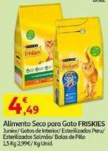 Oferta de Ração para gatos Friskies por 4,49€