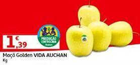Oferta de Maçãs Auchan por 1,39€