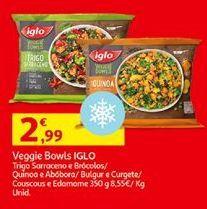 Oferta de Verduras congeladas Iglo por 2,99€