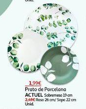 Oferta de Pratos Actuel por 1,99€