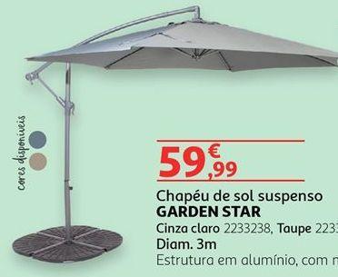 Oferta de Guarda sol por 59,99€