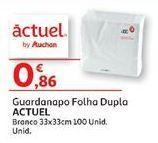 Oferta de Guardanapos de papel Actuel por 0,86€