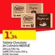 Oferta de Chocolates Nestlé por 1,34€