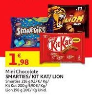 Oferta de Chocolates Kit Kat por 1,98€