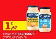 Oferta de Maionese Hellmann's por 1,67€