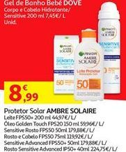 Oferta de Protetor solar Ambre Solaire por 8,99€