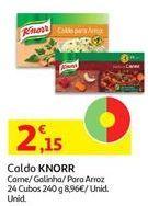Oferta de Caldo Knorr por 2,15€