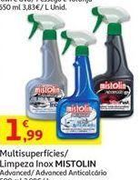Oferta de Limpadores Mistolin por 1,99€