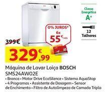 Oferta de Lava louças Bosch por 329,99€