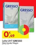 Oferta de Leite Gresso por 0,49€