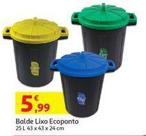 Oferta de Lixeira de reciclagem por 5,99€