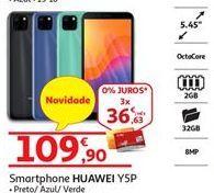 Oferta de Smartphones Huawei por 109,9€
