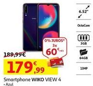 Oferta de Smartphones Wiko por 179,99€