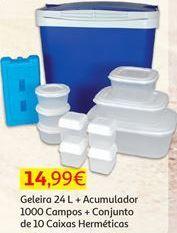 Oferta de Caixa isotérmica por 14,99€